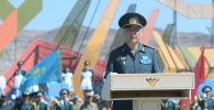 Министр обороны Казахстана Нурлан Ермекбаев на открытии Армейских игр в Казахстане, архивное фото