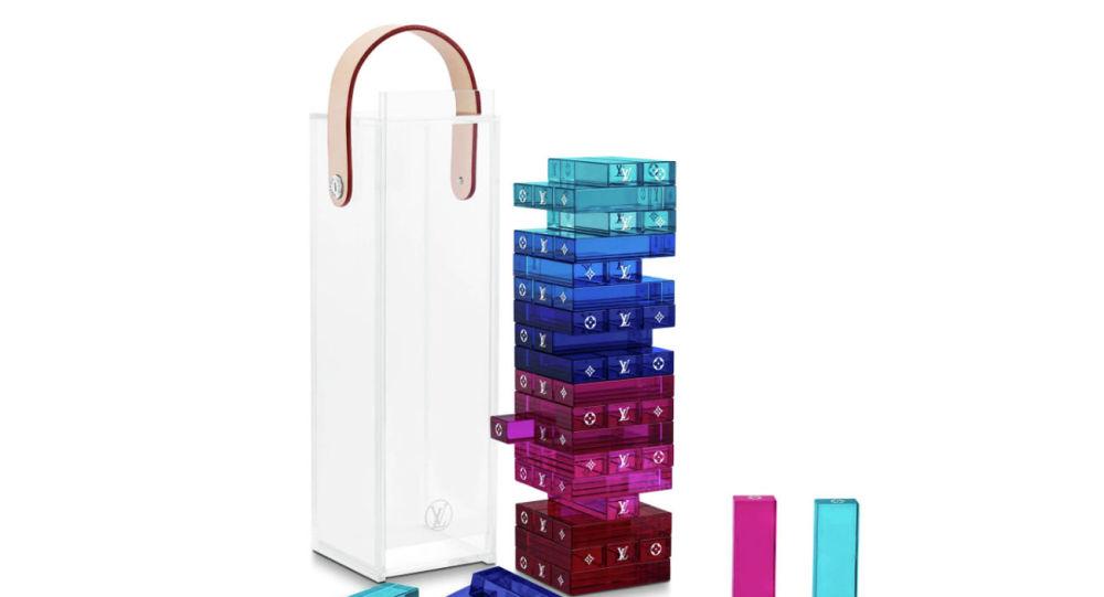 Игровой комплект Дженга от Louis Vuitton