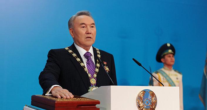 Қазақстан президенті  Нұрсұлтан Назарбаевты ұлықтау салтанаты