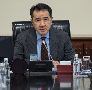 ҚР Премьер-Министрі Бақытжан Сағынтаев