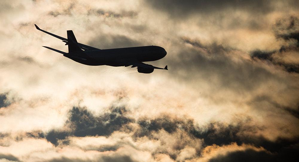 Архивное фото самолета