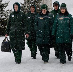 Открытие Центра исправления осуждённых в Приморском крае