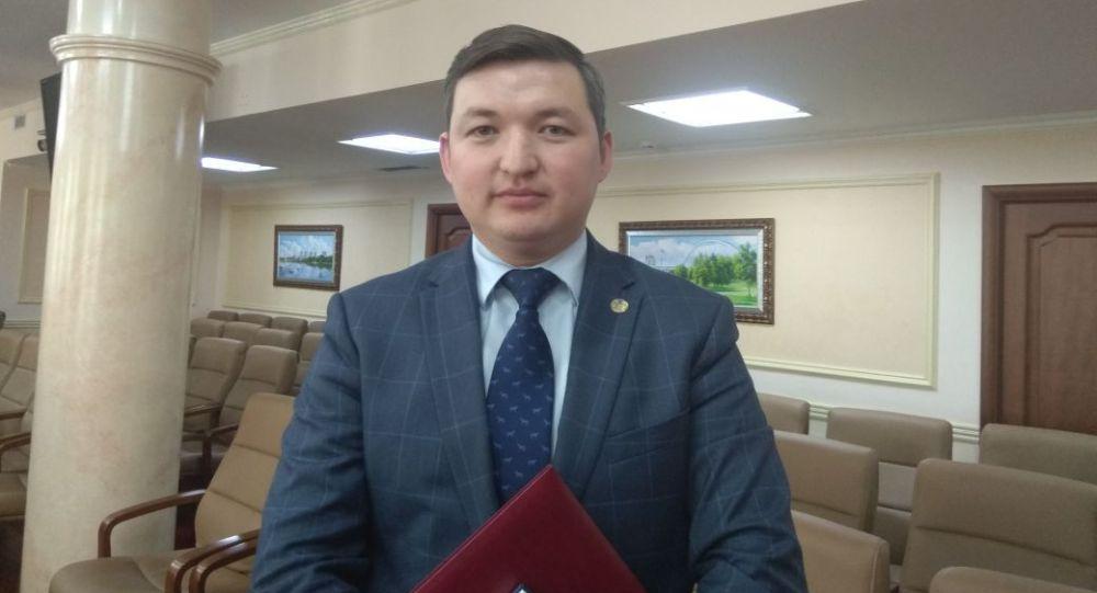 Исполняющий обязанности директора Национального центра тестирования Дидар Смагулов