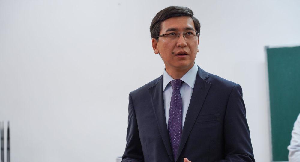 Қазақстанның білім және ғылым министрі Асхат Аймағамбетов