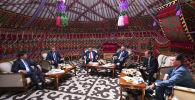 Юбилейное заседание Евразийского межправительственного совета проходит в узком составе в городе Чолпон-Ата (Кыргызстан). В нем принимают участие премьеры стран ЕАЭС и председатель коллегии Евразийской экономической комиссии Тигран Саркисян