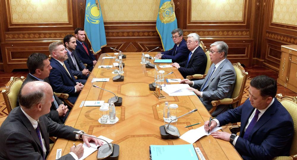 Касым-Жомарт Токаев встретился с американскими конгрессменами