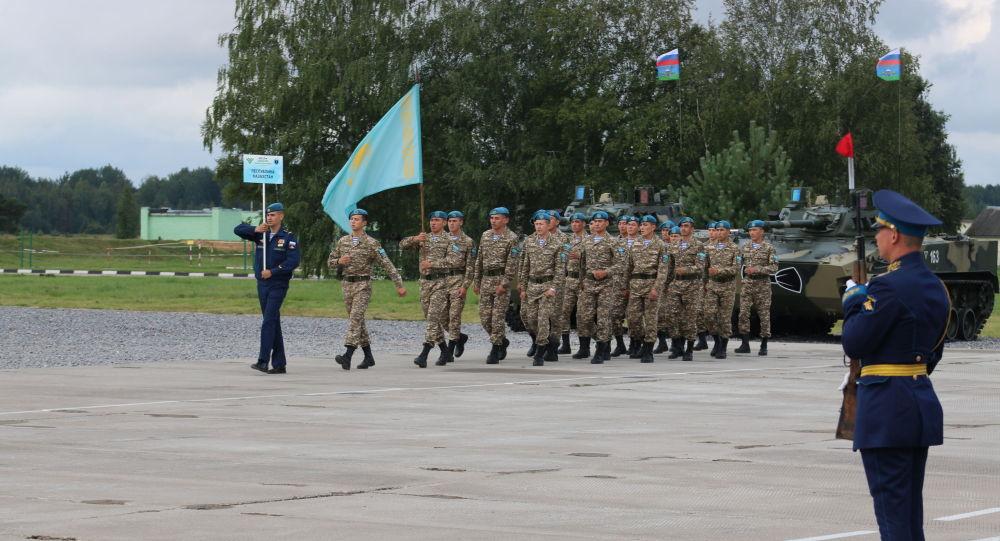 Десантники Казахстана достойно представили страну на АрМИ 2019