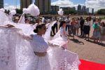 Церемония бракосочетания в Нур-Султане