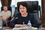 Министр культуры и спорта Актоты Раимкулова