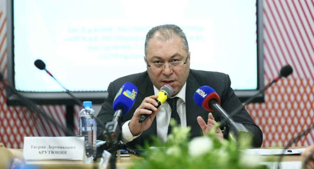 ЕЭК өнеркәсіптік саясат департаменті директорының орынбасары Тигран Арутюнян