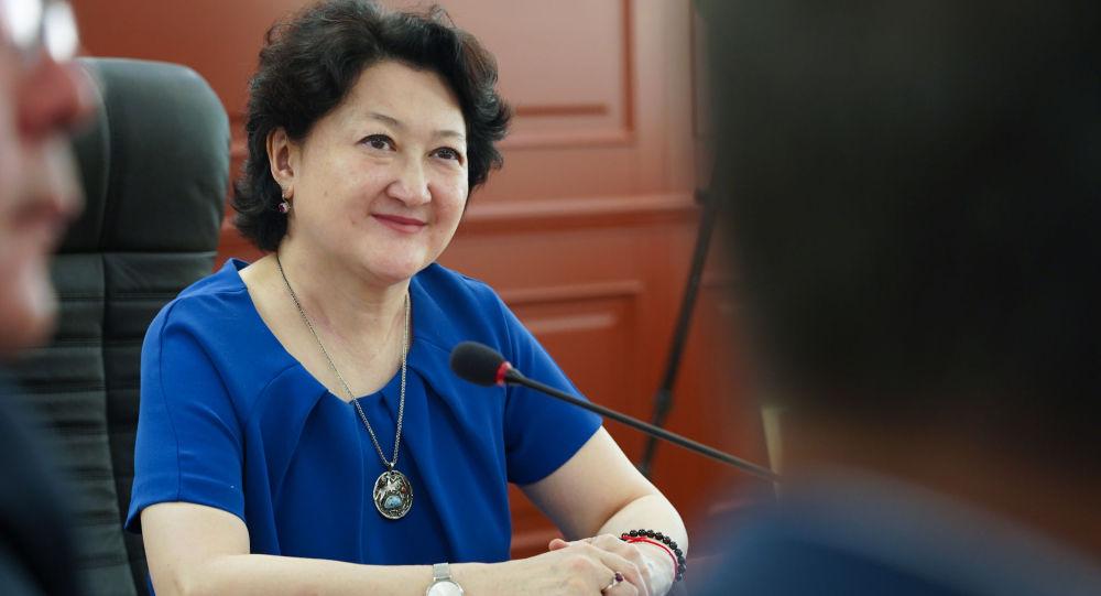 ҚР мәдениет және спорт министрі Ақтоты Райымқұлова