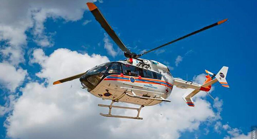 Вертолет МИ-8 компании Казавиаспас комитета по ЧС