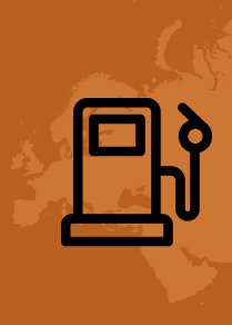 Доступность бензина в странах Европы в середине 2019 года