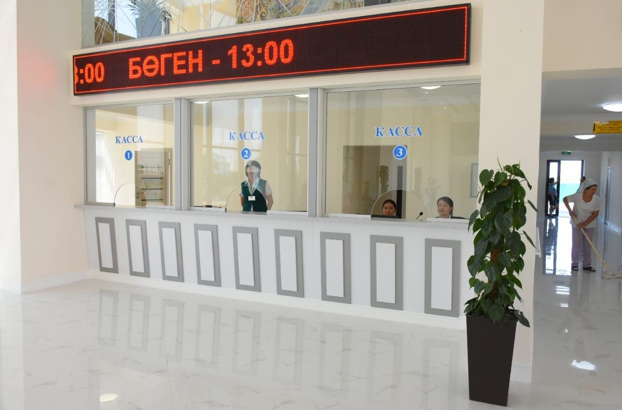 Открытие международного автовокзала в Туркестане