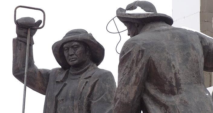 Памятник металлургам в Темиртау
