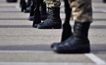 Архивное фото военнослужащих