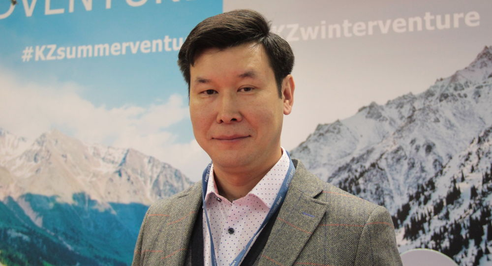 Заместитель председателя правления нацкомпании Казахтуризм Кайрат Садвакасов