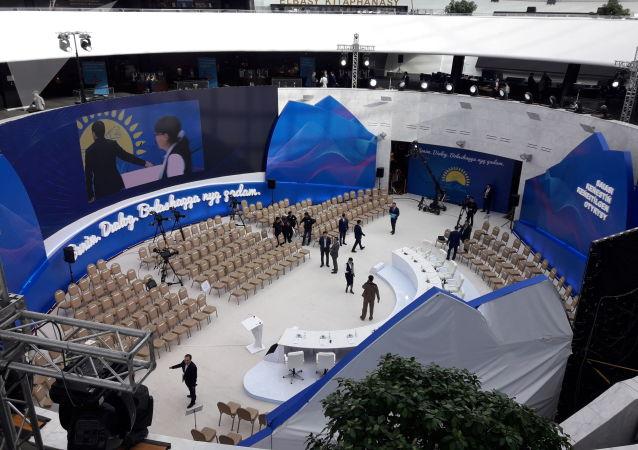Партийцы собираются в Назарбаев центре