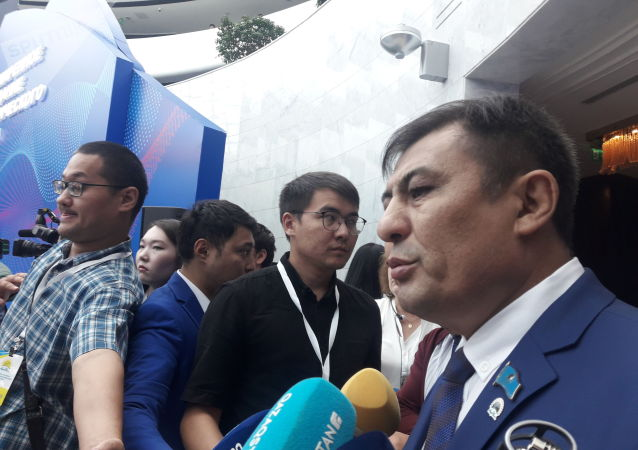Первый заместитель председателя Алматинского областного филиала партии «Нур Отан» Галиаскар Сарыбаев
