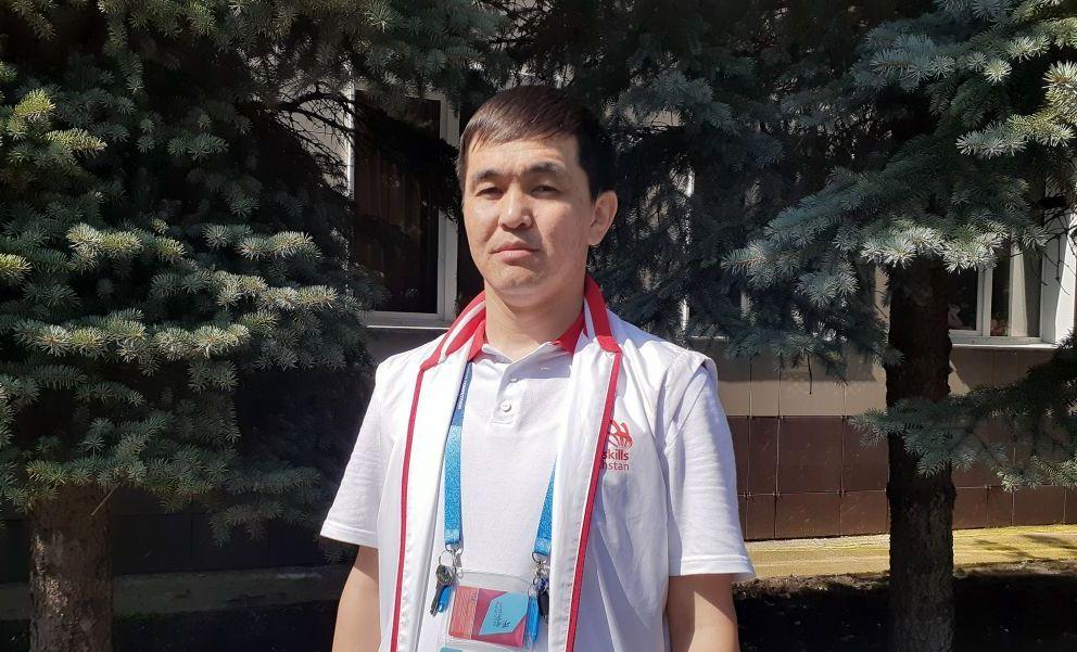 Директор департамента развития движения WorldSkills НАО Холдинг Кәсіпқор  Санжар Татибеков