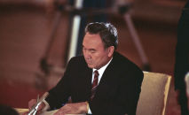 Президент Казахской ССР Нурсултан Назарбаев, архивное фото