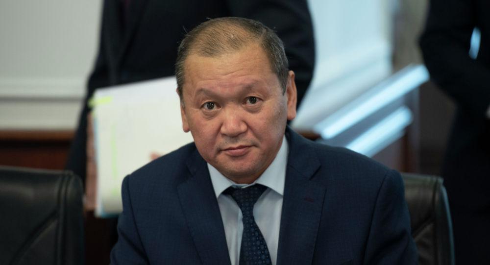 Министр труда и социальной защиты населения Казахстана Биржан Нурымбетов