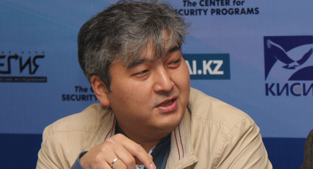 Саясаттанушы Данияр Әшімбаев