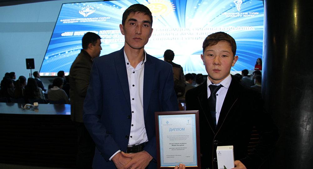 Школьники Казахстана сыграли втурнир «Кто благоразумнее?» через мобильные телефоны