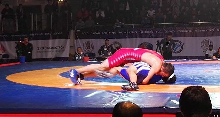 Алматинская область выиграла Кубок конфедерации в греко-римской борьбе