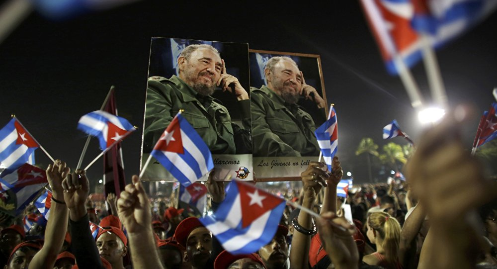 Прощание с Фиделем Кастро на Кубе