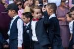 Казахстанские школьники, архивное фото