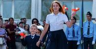 1 сентября в алматинских школах