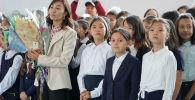 1 сентября. Лицей-интернат Білім-Инновация для одаренных девочек города Нур-Султан