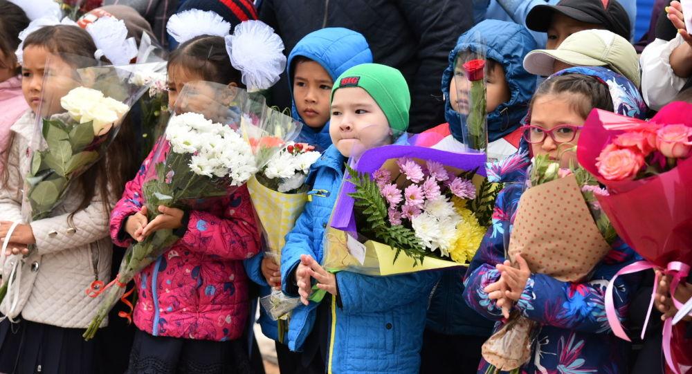 1 сентября в столичной школе имени Абая Кунанбаева