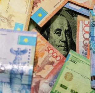 Ақша, валюта, теңге, доллар