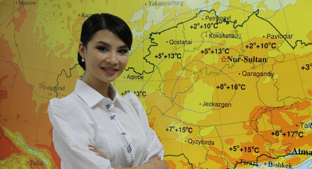 Саида Бердибекова - инженер-синоптик Управления краткосрочных прогнозов погоды Гидрометцентра РГП Казгидромет
