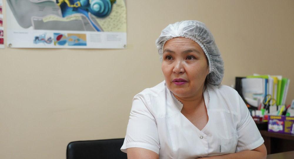 лор-хирург Гүлмира Сағатова