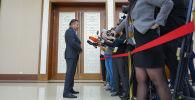 Директор республиканского госучреждения Служба центральных коммуникаций при президенте Казахстана Талгат Калиев