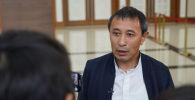 Председатель Союза кинематографистов Казахстана, режиссер Ермек Турсунов