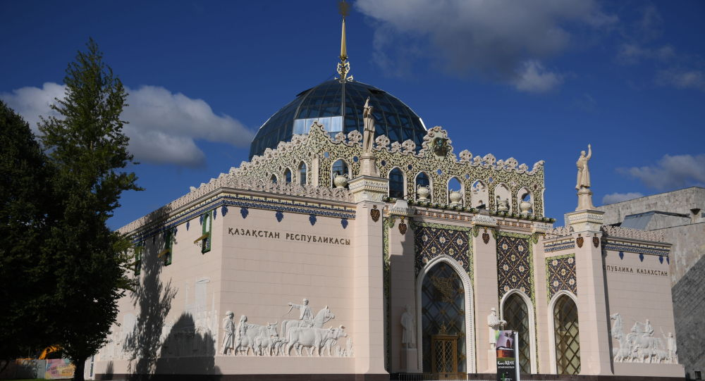 Павильон Казахстан на ВДНХ