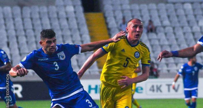 Исламбек Куат, капитан сборной Казахстана по футболу