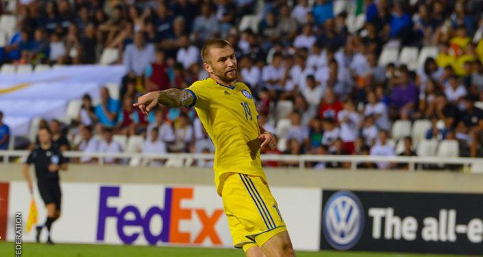 Алексей Щеткин, нападающий казахстанской сборной по футболу