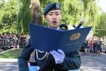 Присяга в военном институте радиоэлектроники и связи в Алматы