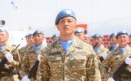 Казахстанские миротворцы в Ливане
