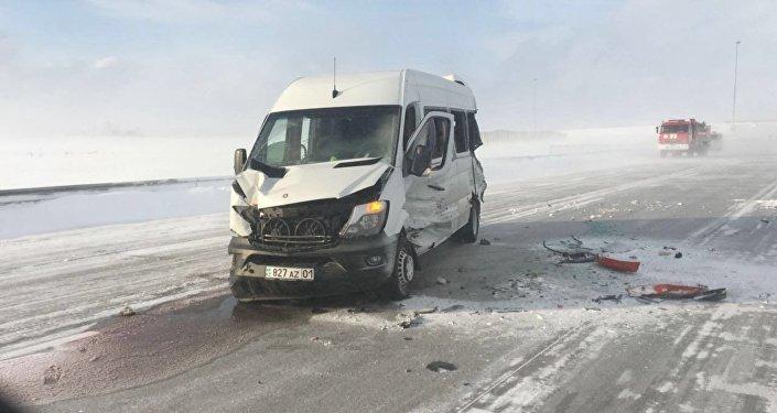 Астана - Щучинск тас жолында болған апат