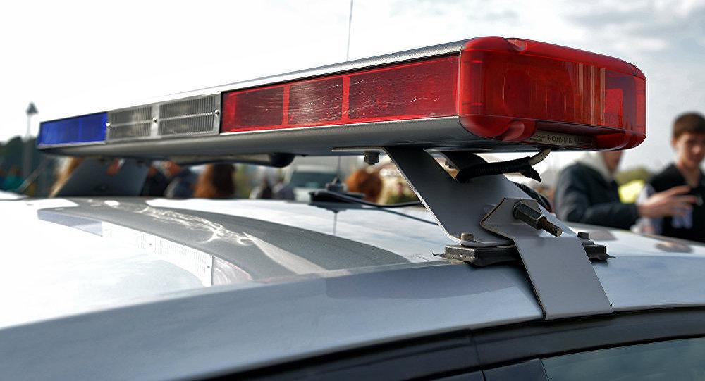 Мигалки на полицейской машине