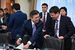 Аким Астаны Бахыт Султанов и министр юстиции Республики Казахстан Марат Бекетаев