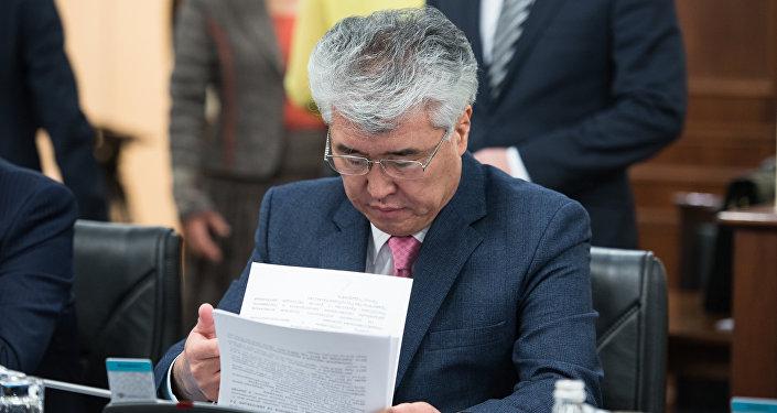 Мәдениет министрі Арыстанбек Мұхамедиұлы