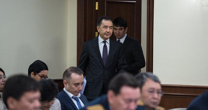 Премьер-Министр Республики Казахстан Бакытжан Сагинтаев