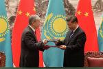 Подписание соглашений во время визита К.-Ж. Токаева в Пекин